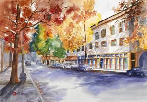 Portland City Street