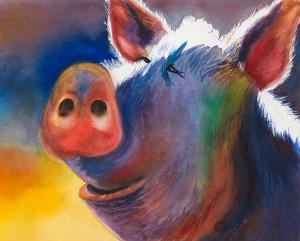 Smilin Pig